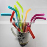 silicone factory top best fashion silicone rubber drinking straw