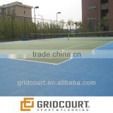 outdoor badminton and tennis sports flooring/ surface
