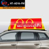 Advertising board pizza car led roof signs