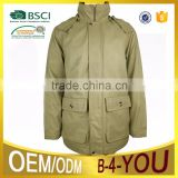 Men's winter black softshell jacket wholesale cheap jacket jacket with cap pocket jacket