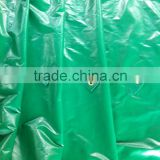 pvc tarpaulin fabric over with reinforced welding bond and pp rope with aluminium eyelet