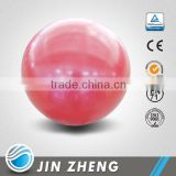 Soft 20cm fitness ball inflated by mouth with straw
