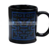 11oz Sublimation Glazed Color Change Ceramic Mug Manufacture/White color Coffee Cups made