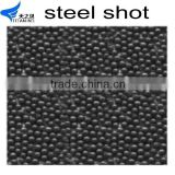 Supply cast steel shot S460 for sand casts shot blast cleaning abrasive steel shots S230 diameter 0.6mm