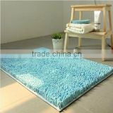 Cheap Price Home Textile Microfiber Polyester Clean Plain Floor Mat / Chenille Floor Mat