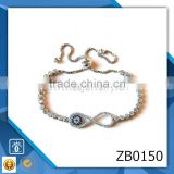 copper platinum jewelry 2015 energy bracelet new gold bracelet designs zircon starfish bracelet