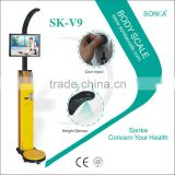 Factory Original With Blood Pressure Measurement SK-V9 Body Fat Analyser Scales Koisk