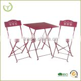 unique metal furniture -new design metal dining table and chairs/2015 new product/living room