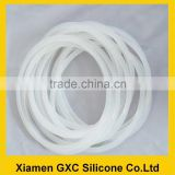 hot soft silicone rubber seal ring gasket for medical product