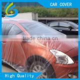 High quality clear PEVA plastic disposable dust car cover