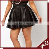 latest sexy mini black skater skirts for fat girls