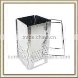 Stainless Steel foldable Charcoal Chimney Starter