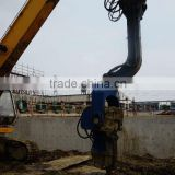 Hydraulic vibratory pile driver hammer for driving sheet piles                                                                         Quality Choice