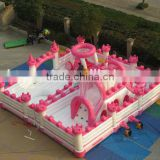 inflatable princess bouncy castle/air castle