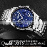 2015 Skmei original factory High Quality Hot Sell Fashion Sports Stainless Steel Quartz Watch For Men Model 9096 china alibaba