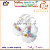 Wholesale Best Price Beautiful Rhinestone Soft Sole Shenzhen Anti-slip Baby Crib Sandals