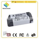 COB 20W 25-36V 600mA ON/OFF Dimmable LED Driver With Constant Current and CE Certification