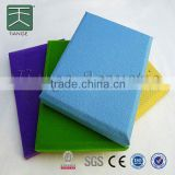 Soundproof fabric acoustic panel soundproof and fireproof materials fiberglass sound absorbing board wall coverings
