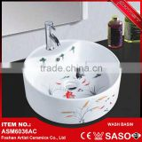 Modern art ceramic wash basin that alibaba low price of shipping to canada