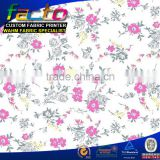 Bright in colour digital printing printed floral chiffon fabric Colors can be customized