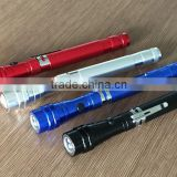 3 LED Light Torch with Telescopic Magnetic Pick Up Tool Flexible Flashlight/Aluminum Flashlight/LED working light