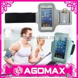 Cheap prices reusable mobile phone hook and loop and elastic arm band