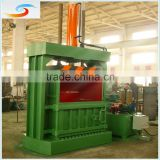 waste carton paper ,plastic pet Bottle Baler Machine / hydraulic semiI-automatic baler press
