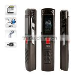 4GB 100 metres wireless long distance and 350 Hours continous recording hot wireless spy digital voice recorder