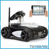 Iphone/Ipad Remote Control Toys 777-287 30W Pixel Camera And Real Time Transmission Video I-Spy Tank with Camera