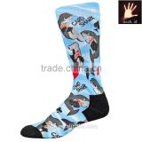 buy wholesale direct from china custom boys calf compression basketball socks elite