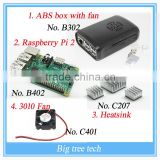 Details about Raspberry Pi 2 Model B 1GB RAM Quad Core + ABS box + Cooling Fan + Heatsinks