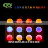 High quality Led bouncing light rubber golf balls                                                                                                         Supplier's Choice