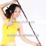Wholesale Belly Dance Wear Outfits, Cheap Printed Colourful Candy Plastic Cane for Dancer (D11)