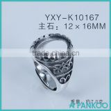 925 sterling silver wholesale ring base silver ring collection DIY fashion jewelry accessories