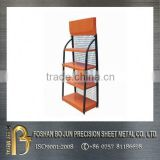 Made in china 2016 custom cheap price exhibition display stand racks, metal customized racks china supplier