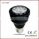 Factory sales 25W E27 Par 20 led bulb light LC7120F