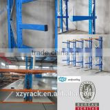 CE Double-sided Warehouse Steel Cantilevel Stacking Racks for heavy duty Goods Storage for best factory supplier