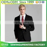 New design tailored made men's formal suit cheap slim fit blazer tuxedo suit