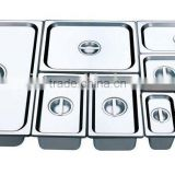 304 stainless steel gastronorm container/all size GN pan food container