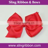4 Inch Red Grosgrain Ribbon Big Hair Ribbon Bows
