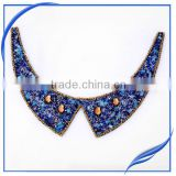 beaded necklace rhinestone necklin appliques