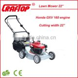 HONDA GXV160engine lawn mower with cutting width 18''/20''/22'' CE certificate