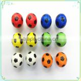 Promotional Wholesale Custom Logo Printed PU football Toys Anti Stress Ball