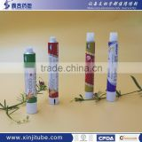 Printed Toothpastes soft squeeze 99.7%aluminium tube packaging