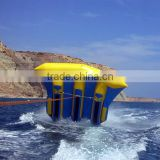 New design 0.9mm PVC inflatable water toys inflatable flying fish towable,inflatable flyfish