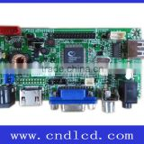 Controller Driver Mother Main Board Solution with HDMI For Harsh Environment Monitor Display