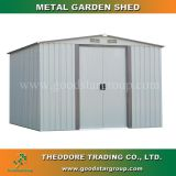 Good Star Group metal garden shed apex roof outdoor backyard tools storage shed kits portable steel building