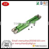 Customized cnc Machined Alloy Aluminum Universal bicycle Drive Shaft