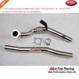 Mertop Race New 3'' 76mm Catless High Flow VW Golf R MK6 Aud* TTS Aud* S3 AUD* A3 8P Quattro 1.8L TFSI 2L TFSI Downpipe