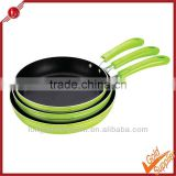 Non-stick cake pan double fry pan cookware aluminum divided frying pan